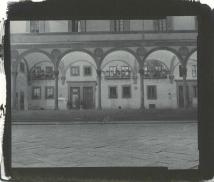 Piazza della Annunziata, Florence, 2014, salted paper print